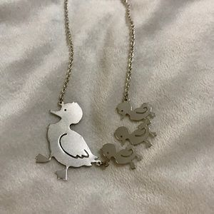 Charming Charlie Mother Goose Necklace